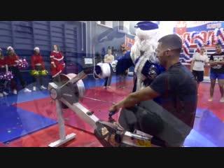 Новогодняя тренировка юношей и мужчин в СПК