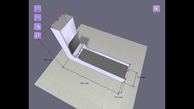 Испытание самоуплотняющегося бетона в L-образном ящике (L-box test)