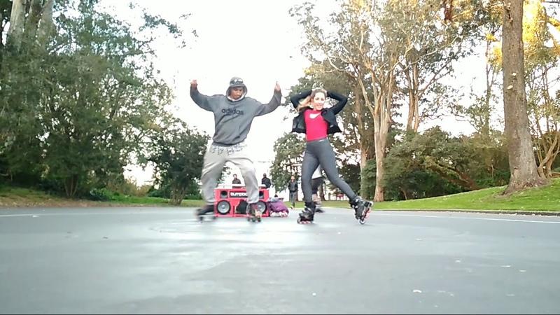 Zaira Tary Mooncricket Roller dancing