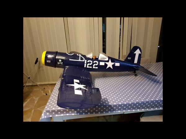 Aéromodélisme : Construction d'un avion Vought CORSAIR F4U imprimé en 3D