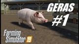 Farming Simulator 2019 #1 Разбираемся, как выращивать свиней