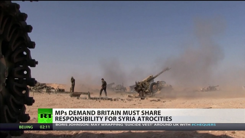 MPs demand Britain must share responsibility for Syria atrocities