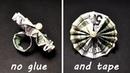 BEAUTIFUL MONEY RING | Origami Dollar Jewelry Idea | Tutorial DIY (NProkuda)