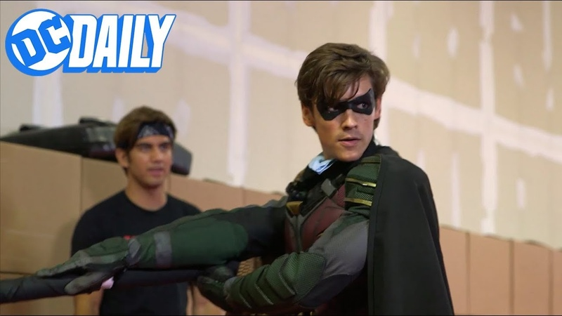 TITANS Behind-the-Scenes (DC Review)