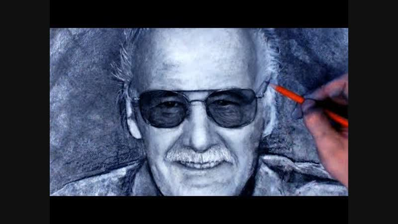 Watch this heart felt Stan Lee Tribute Drawing Video