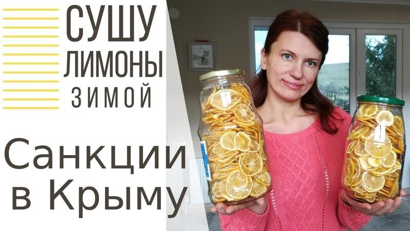Как правильно сушить лимоны, Как не отрезать палец, Санкции в Крыму, подключила монетизацию YouTube