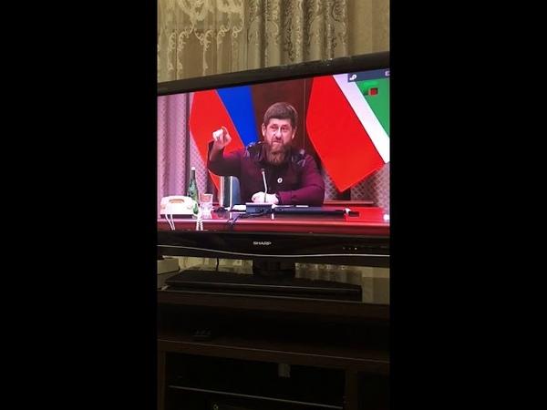 Кадыров угрожает Ингушам убивать, если проведут митинг на территории которая отошла к Чечне