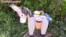 Ослик Поделка для сада Donkey for the garden DIY ХоббиМаркет