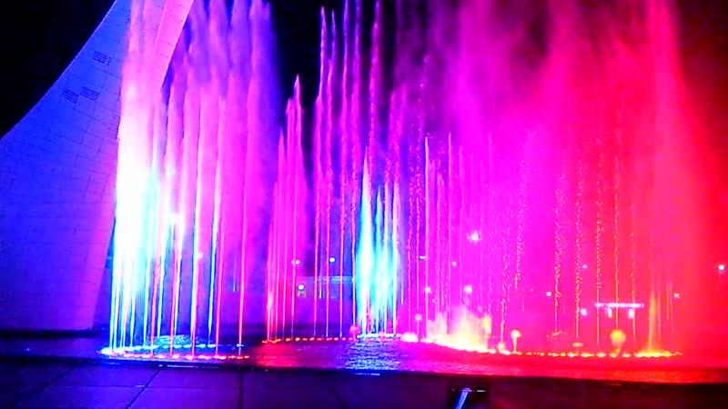 Поющие фонтаны 1