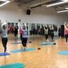 Прямо сейчас в клубе «Октябрьский» проходит занятие Здоровая спина на укрепление мышечного корсета и улучшение функционирования