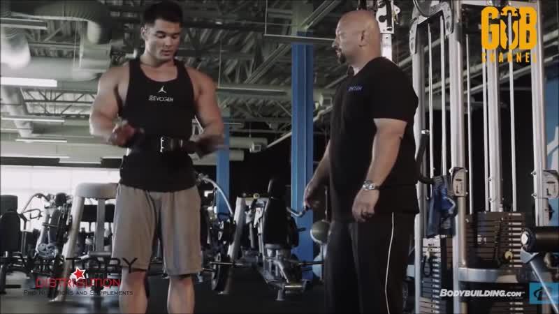 Джереми Буэндиа и Хани Рэмбод: тренировка груди и бицепсов. FST-7