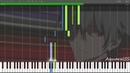 [Synthesia] Evangelion 3.0 - Sakura Nagashi -Paul.C Arr.- (Piano Tutorial DPS)