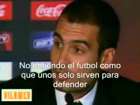 Guardiola Presentacion como entrenador Barcelona (subtitulado)