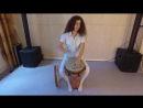 Fingerstyle on djembe. Fusion technigues by Masha Anisimova.mp4