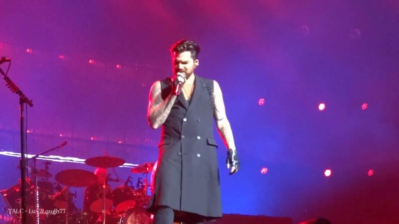 Q ueen Adam Lambert - A nother One B ites The Dust - P ark Theater - Las Vegas - 9.21.18
