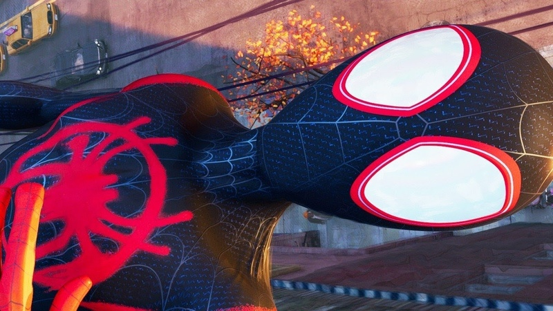 Spider-Man Into the Spider-Verse Exclusive Clip - You Can Wear the Mask