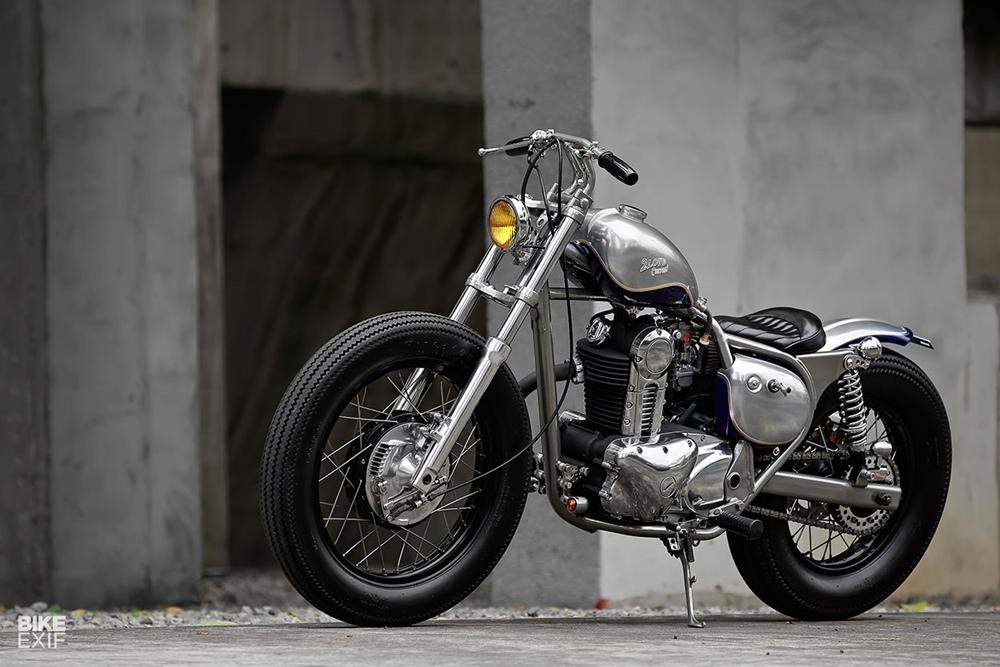 2LOUD: боббер Kawasaki BJ250