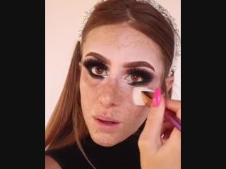 Вечерний макияж: пошагово