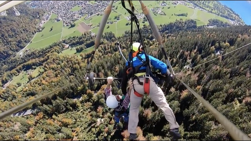 Accidentally Hang Gliding Without a Harness | Pure Terror Anxiety