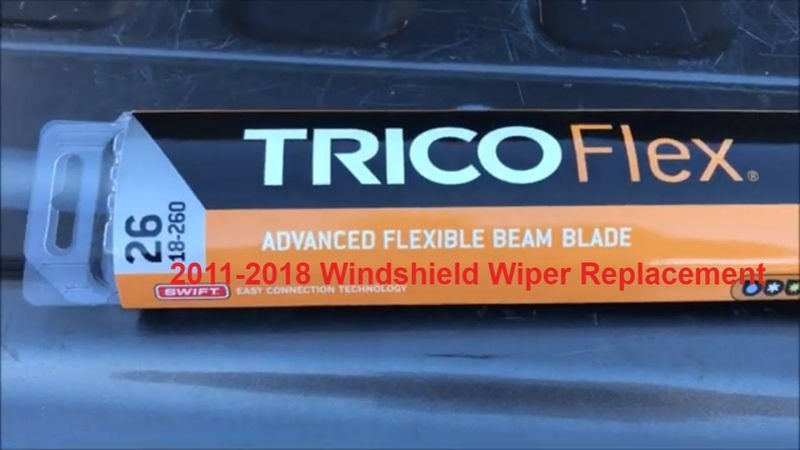 2011-2018 Ford Explorer No Tool Windshield Wiper Blade Replacement