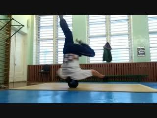 Breakdance practice