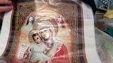 Икона образ Пресвятой Богородицы Достойно Есть. Алмазная живопись. Посылка #3 из Китая