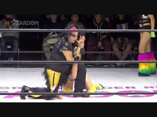 Hana Kimura & Mary Apache vs. Hanan & Leo Onozaki - Stardom Goddesses Of Stardom 2018 - Tag 3 (Afternoon Show)