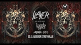 Мои впечатления от концерта Slayer, Anthrax, Obituary и Lamb of God. (23.11.2018 Vienna)