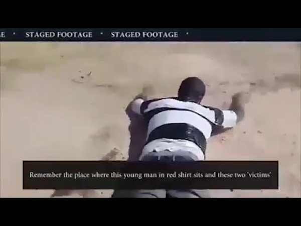 СМИ опубликовали видео постановочной химатаки в Идлибе террористов «белых шлемов»