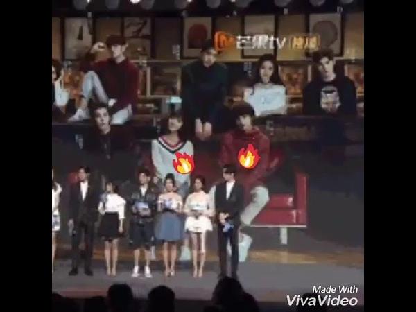 Moment compilation of Li Jiaqi and Caesar Wu Wu Xize Meteor Garden 2018 Ximen Xiaoyou