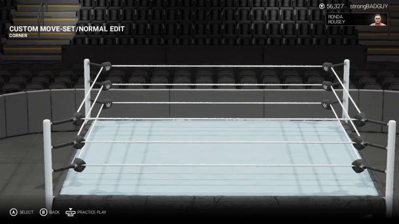 Ronda Rousey moveset WWE 2K19