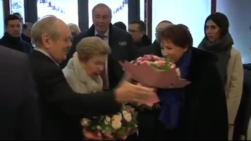 Вдова первого Президента России Наина Ельцина и Татьяна Юмашева встретились с Минтимером Шаймиевым