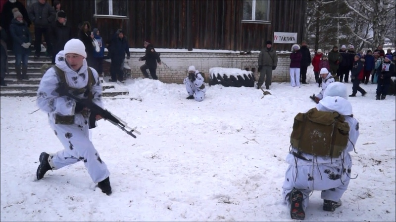 III Зимние военно спортивные игры на кубок святого благоверного великого князя Александра Невского П