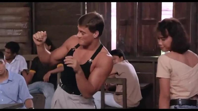 Танец Ван Дамма из фильма Кикбоксёр