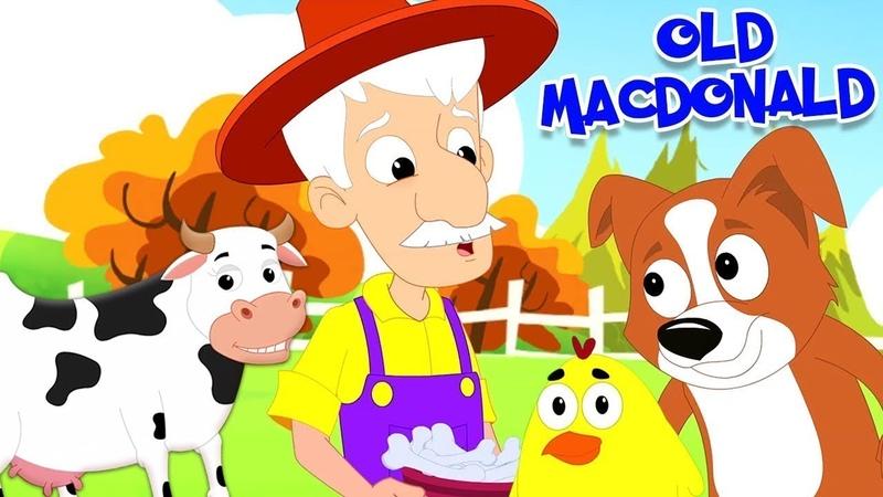 Old MacDonald Had A Farm Фермер Макдональд - Песни для детей 2