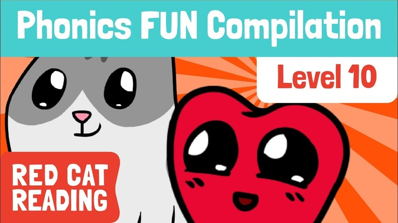 Fun Phonics | Level 10 | wh, ph, le, ay, oy, ~y, ~y* | How to Read | Made by Red Cat Reading