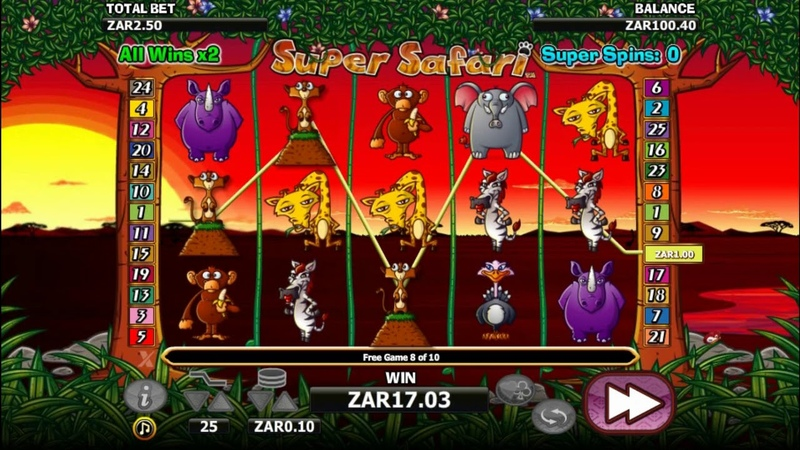 Super Safari Video Slot Review ONLINE918KISS