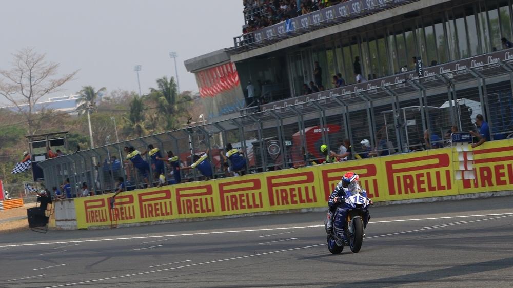 Таиланд, этап 2 - результаты гонки в категории суперспорт