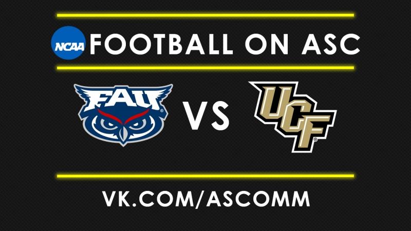 NCAAF Florida Atlantic VS UCF
