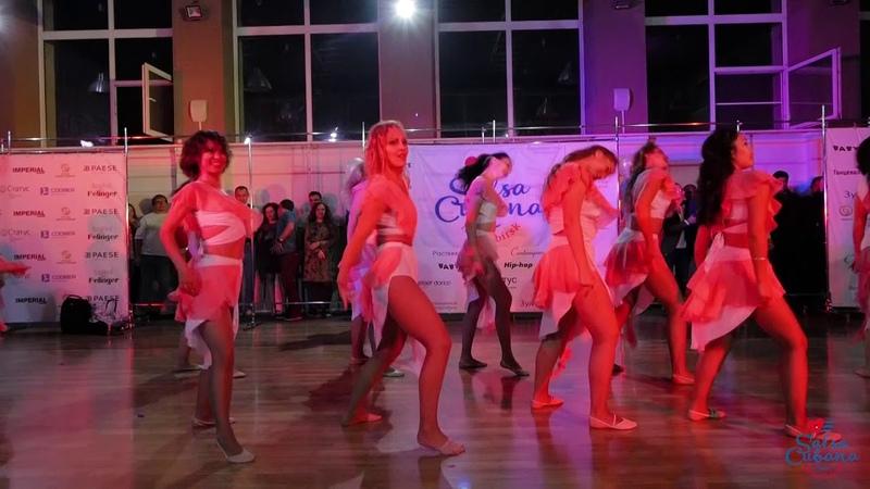Mambo Ladies, Томск и Новосибирск на одной сцене (хореограф Старостина Марина) @ Salsa Cubana