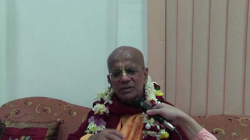 H.H. Gopal Krishna Goswami, Darshan for disciples, Vrindavan, Kartika 28.11.2012