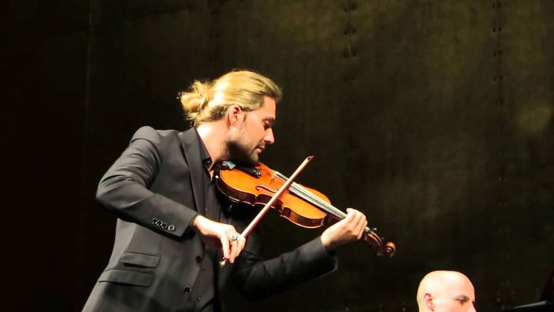 David Garrett Julien Quentin - Paris 22.03.15 - Violinsonate Nr. 3 - Johannes Brahms