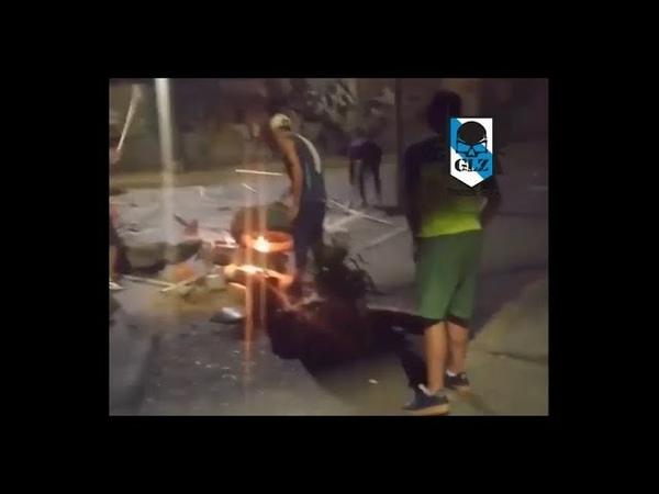 Venezuela 🇻🇪 - Caracas - Malandros de la Oposición vuelven a generar violencia - 22 Enero 2019