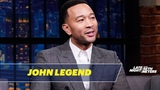 John Legend Partied with Adam Levine at Sports Illustrated Swimsuit Edition Parties