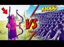 [Coffi Channel] 1.000.000 СТРЕЛ VS 1.000 МАМОНТОВ! НОВЫЙ ЛУЧНИК ТЕРМИНАТОР В TOTALLY ACCURATE BATTLE SIMULATOR