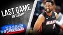 Dwyane Wade Last Game in Utah Full Coverage December 12 2018 FreeDawkins