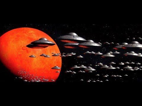 Fake Alien Invasion Incoming! Volcano erupts on Mars!