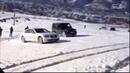 BMW Série 7 xdrive vs mercedes benz g500 4matic na neve