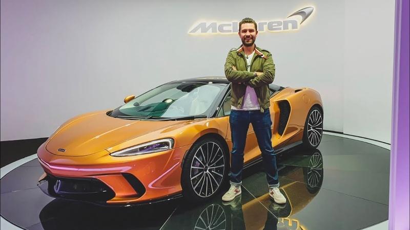 NEW McLaren GT - FIRST LOOK Exhaust Sound!