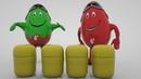 Киндер Киндерино Яйца с сюрпризом - Surprise eggs и игрушки - мультик для детей